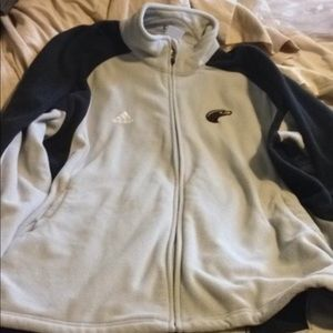Adidas ULM Mens Large Fleece Jacket